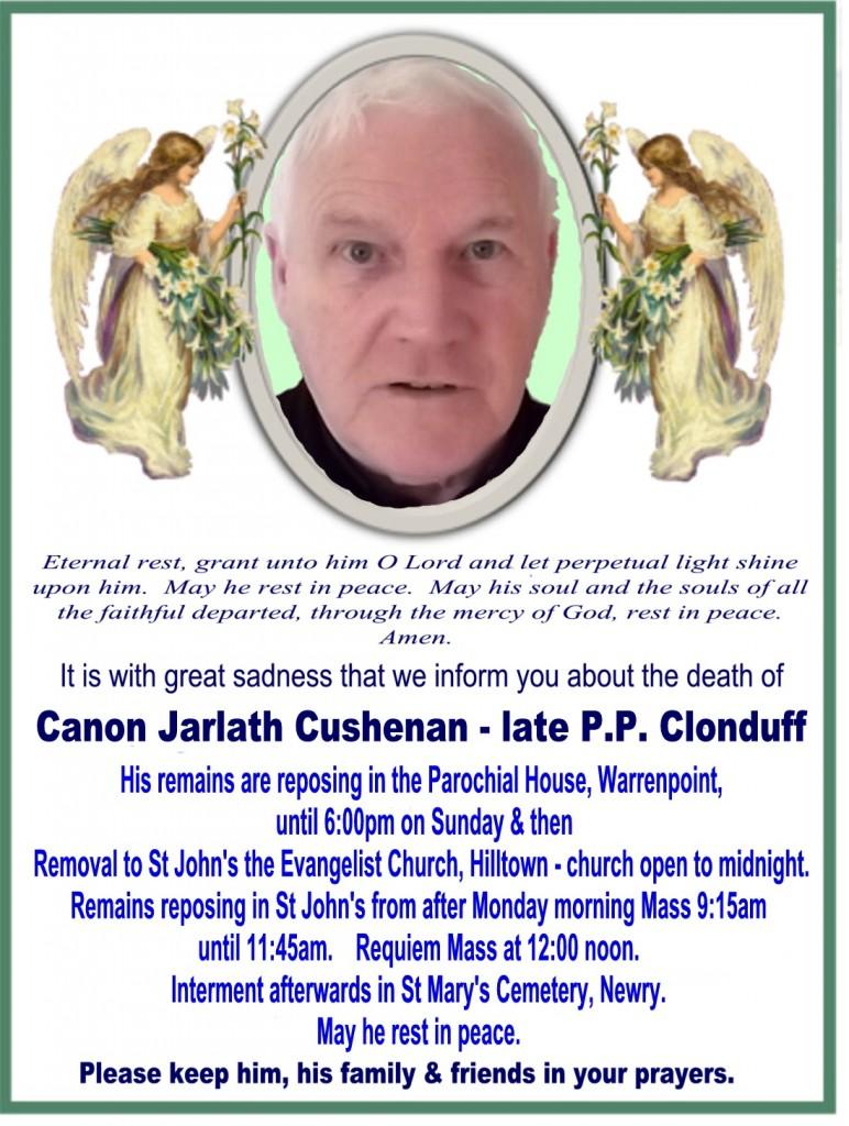 Jarlath Cushenan RIP - Actual jpg